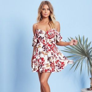 NWT Lovers + Friends All Over Dress in Day Floral